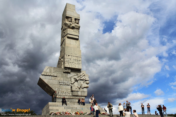 Pomnik na Westerplatte w Gdańsku