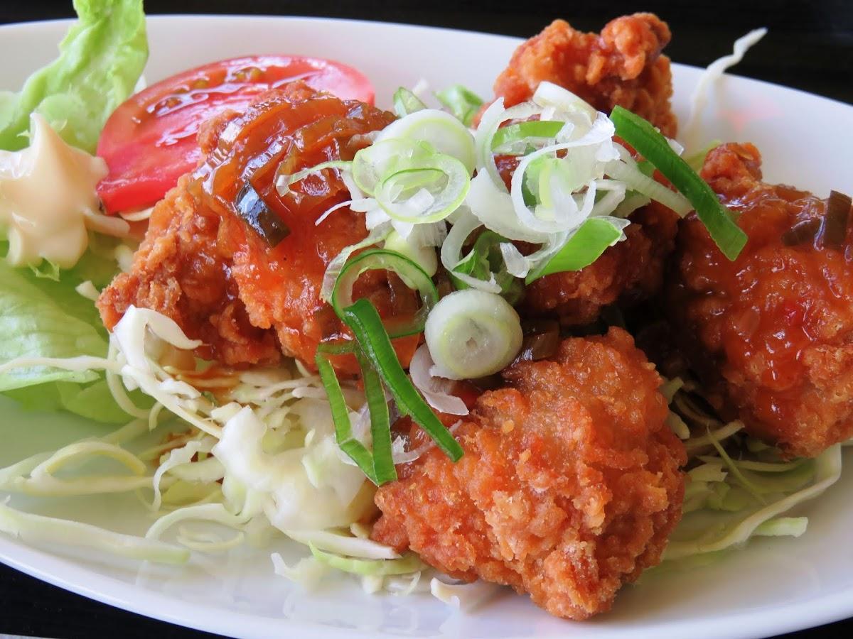 揚げ鶏の菜の花あんかけ(ノンストップで笠原将弘が紹介)のレシピ