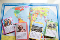 Continent Fact Cards Game and {Learn & Play Link Up}