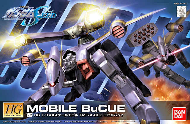 Gundam Mobile Bucue HG Seed R-12 được đảm bảo chất lượng bởi hãng sản xuất Gundam