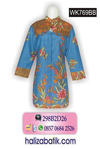 model batik modern, toko baju batik online, contoh batik