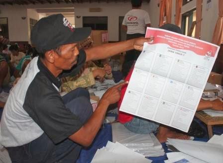 Ribuan surat suara di Kabupaten Ngawi rusak