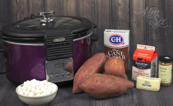 Sweet Potato Casserole in Slow Cooker