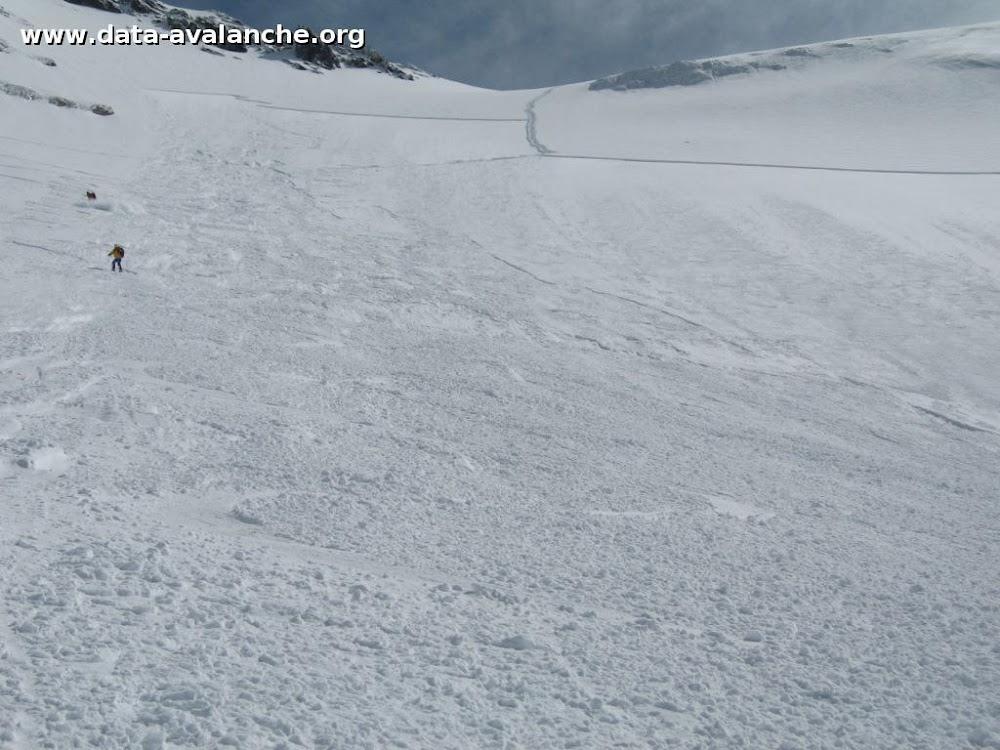Avalanche Vanoise, secteur Grande Casse, Grands Couloirs - voie normale - Photo 1
