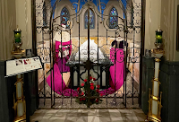Exhibition Features the Traditional Choir Dress of a Cathedral-Basilica's Founding Bishop