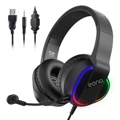 Amazon Brand - Eono USB PC Gaming Headset
