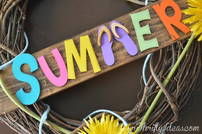 Summer Wreath Idea