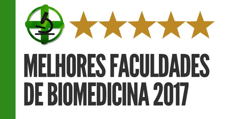 Melhores faculdades de Biomedicina 2017