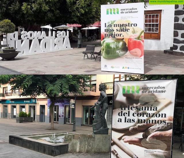 """El Ayuntamiento potencia la compra de productos locales y artesanales a través de la marca """"Mercados de Aridane"""""""