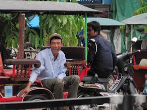 Photo: Year 2 Day 42 -  Tuk Tuk Drivers Having a Laugh