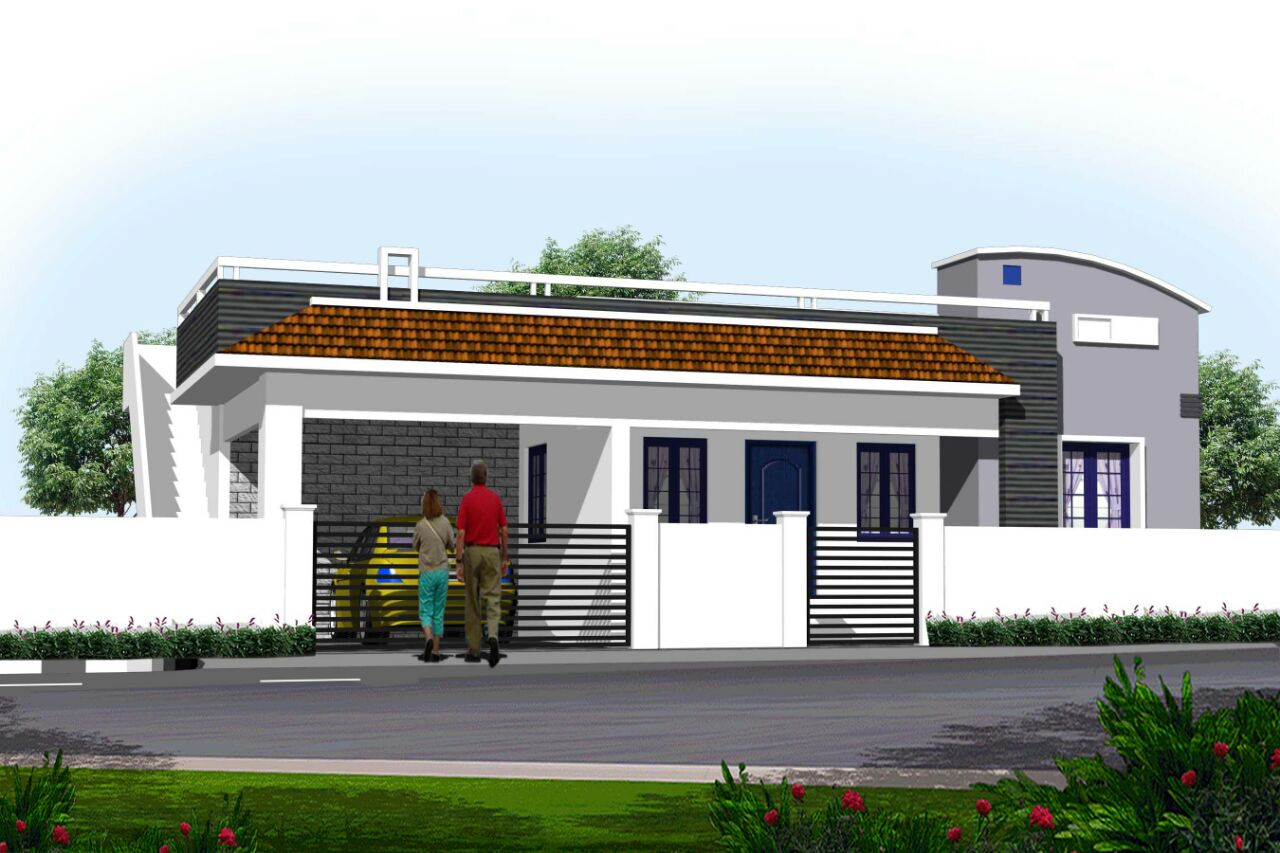 Contractors in Chennai: Individual homes designs, independent home ...