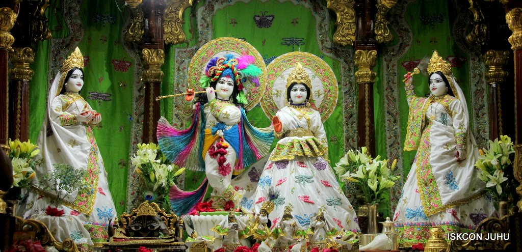 ISKCON Juhu Mangal Deity Darshan on 1st Jan 2016 (23)