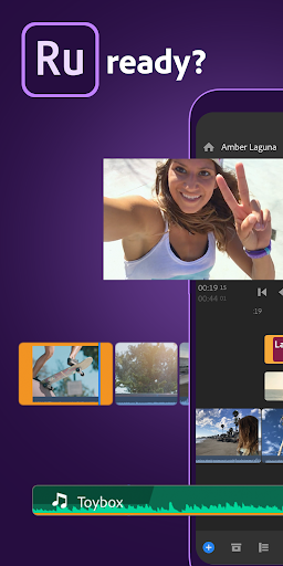 Adobe Premiere Rush u2014 Video Editor screenshots 1