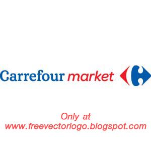 Carrefour market logo vector