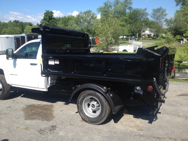Poly Fenders Dually Trucks : Heavy hauler trailers platform body with solid sides