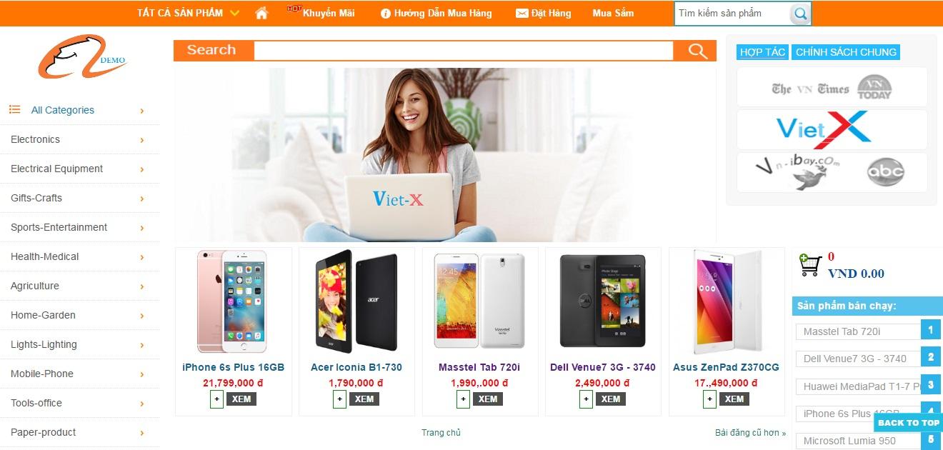 Viet-X Shop | Bán hàng giá rẻ
