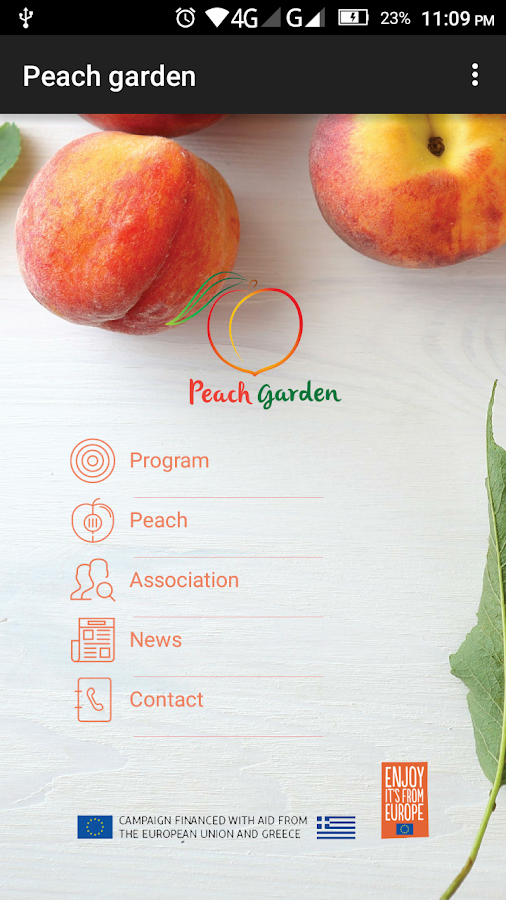 Peach garden- screenshot