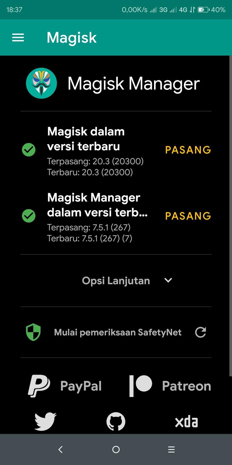 Cara root android dengan Magisk manager,download Magisk manager versi terbaru,cara root android dengan magisk