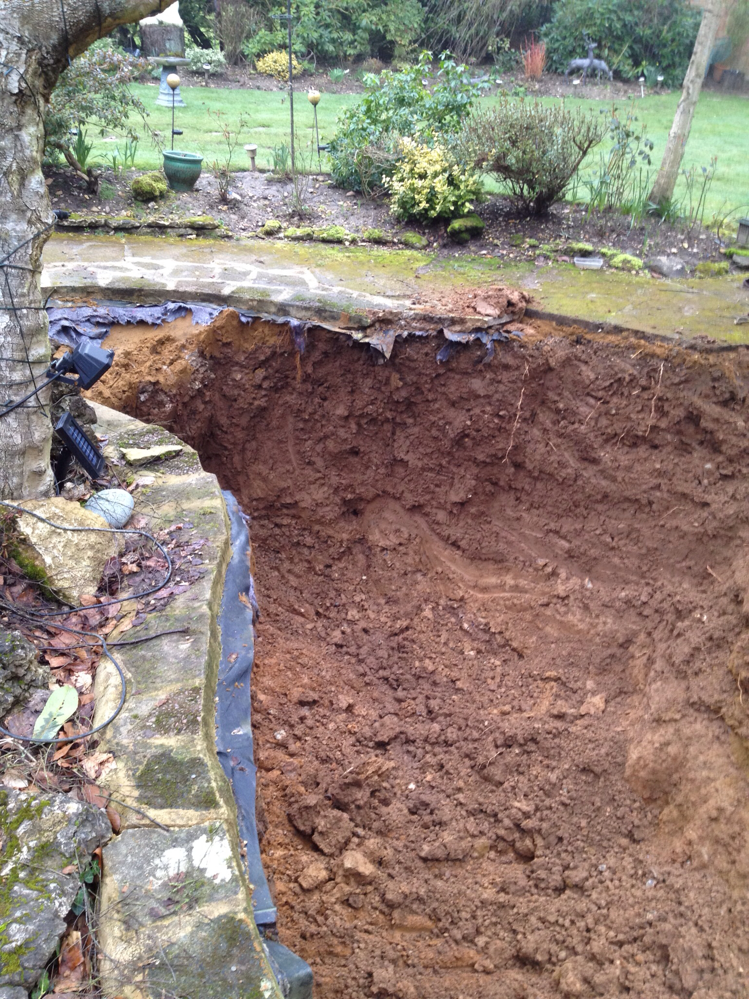 Mark Hobden Main Koi Pond Build The Dig Begins