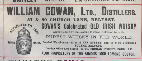William Cowan 1896