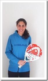 Un total de 10 años es lo que lleva Ángela Caro con HEAD PÁDEL