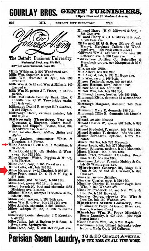 1885_MILNE_Andrew_also Margaret & Lotta_DetroitWayneMichigan