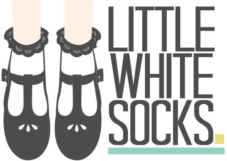 little white socks logo