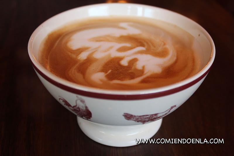 Café latte, Petaluma