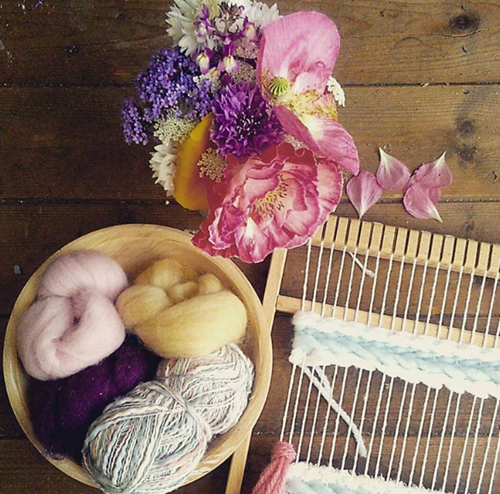 yarn and weaving