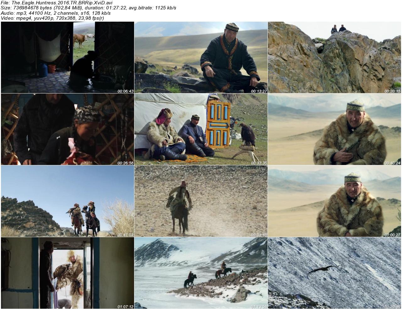 Kartal Avcısı Kız 2016 - 1080p 720p 480p - Türkçe Dublaj Tek Link indir