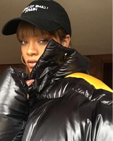 Rihanna wears Fall 2016 Raf Simons