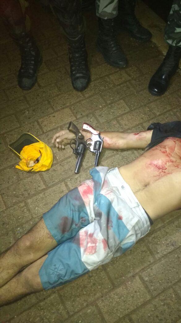 ASSALTANTES SÃO MORTOS EM CONFRONTO COM A POLICIA DE PARAUAPEBAS
