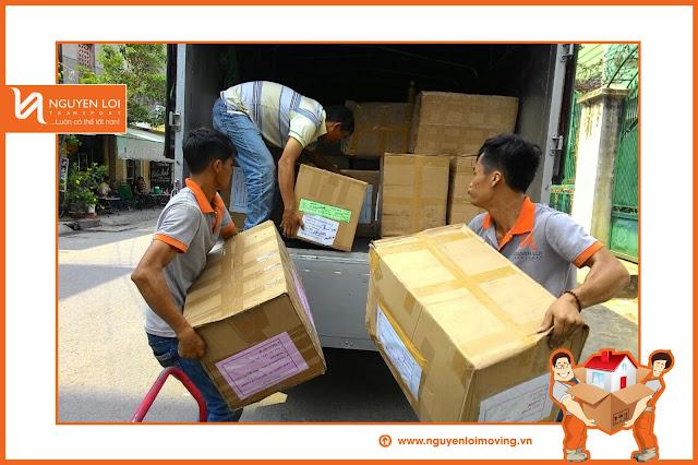 Phối hợp chuyển nhà trọn gói