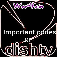 dishtv important codes