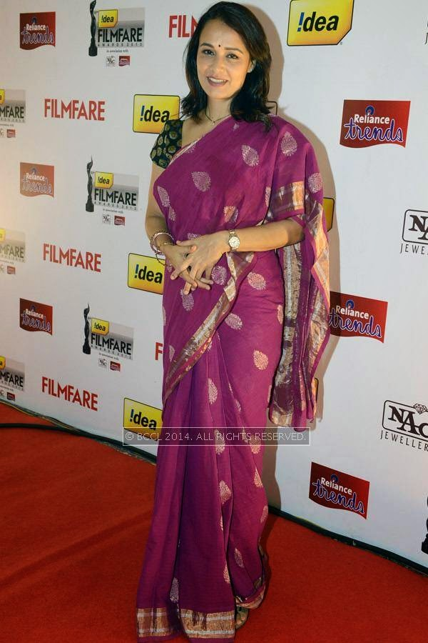 Amala Akkineni during the 61st Idea Filmfare Awards South, held at Jawaharlal Nehru Stadium in Chennai, on July 12, 2014.