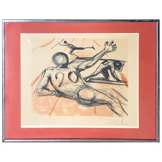 Salvador Dali Signed 'Sports' Lithograph