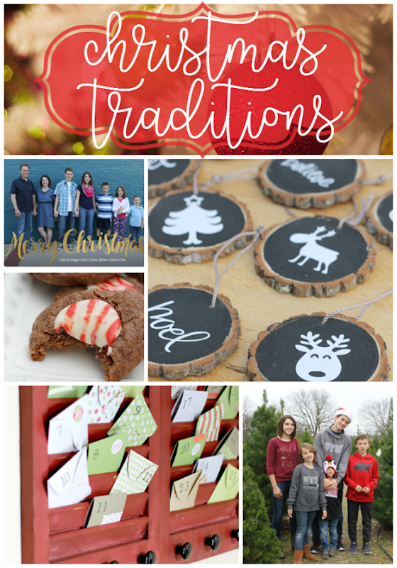Christmas Traditions at GingerSnapCrafts.com
