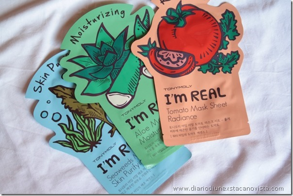 tony moly sheet mask maschere in tessuto