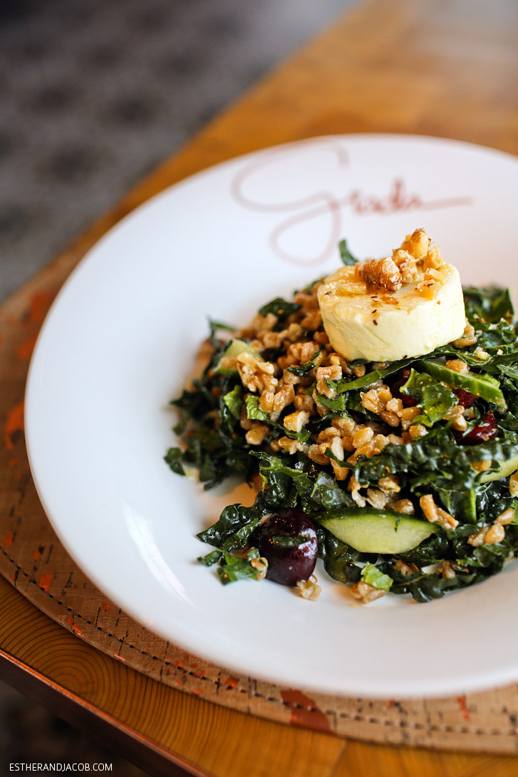 Italian Farro at Giada de Laurentis Las Vegas Restaurant in the Cromwell.