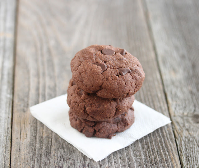 photo of a stack of cookies on a napkin