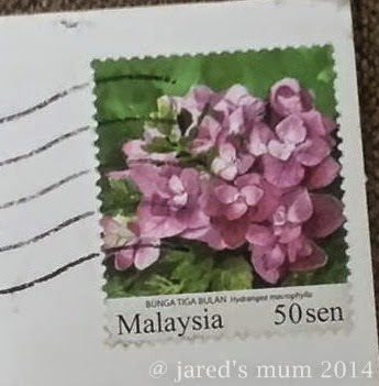 stamps, sunday stamps, India, Malaysia, USA