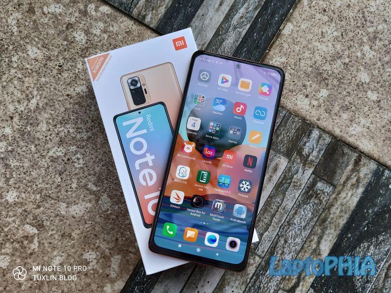 Desain Xiaomi Redmi Note 10 Pro