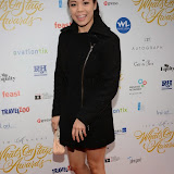 WWW.ENTSIMAGES.COM -     Eva Noblezada   at    THE LAUNCH PARTY FOR THE 15TH ANNUAL WHATSONSTAGE AWARDS At Cafe de Paris London December 5th 2014                                               Photo Mobis Photos/OIC 0203 174 1069