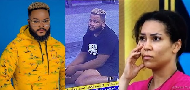 BBNaija 2021: Whitemoney Finally React after he Found out Maria Nominated him for Eviction [Video]