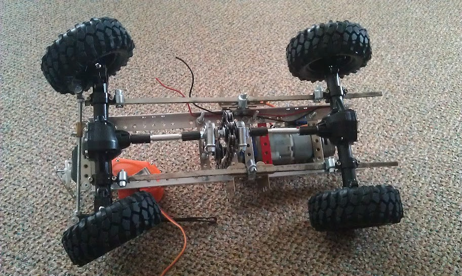 Homemade Simple Truck Chassis With Drill Motor Scale 4x4 R C Forums