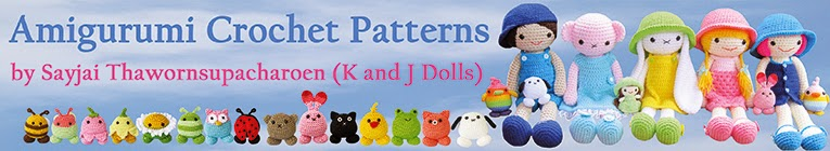 Amigurumi crochet patterns - K and J Dolls