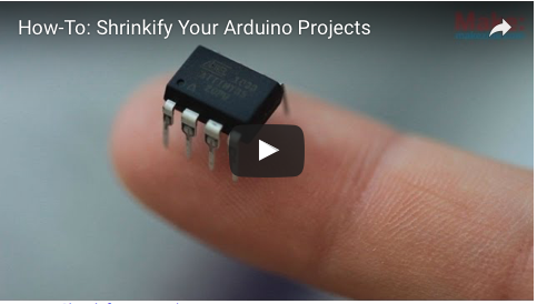 Liked: How-To: Shrinkify Your Arduino Projects [Video]