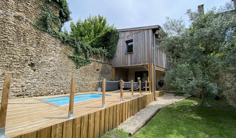 Maison avec piscine et terrasse Mont-de-Marsan