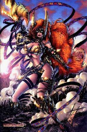 Angela 1, Warrior Girls 2