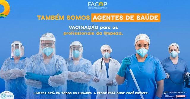 Setor pede agilidade na vacinação dos profissionais de limpeza